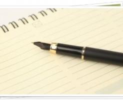 ノートとペン1